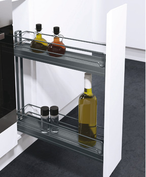 Storage Basket Set, for Cabinet Width 150 mm, 90°, Vauth-Sagel VS SUB Slim