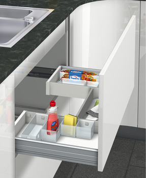Storage System for Under Sink Drawers, H Frame Set, Ninka Banio