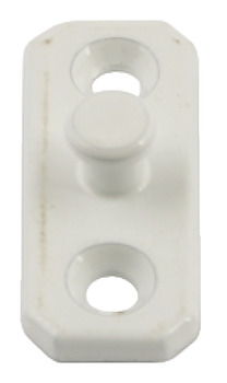 Stud Plate, for Concealed Restrictor, Stainless Steel and Zinc Alloy