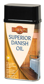 Superior Danish Oil, with UV Filters, Size 250 ml - 5 Litre, for Wood Care