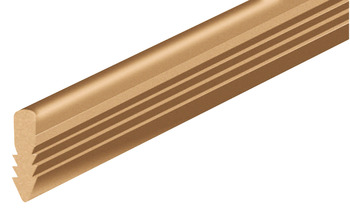 Support Track, for Cabinet Doors, Length 2500 mm, Light Duty Fittings
