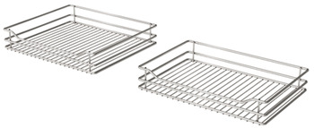 Swing Out Corner Storage, Classic Chrome Linear Wire Baskets, Vauth-Sagel, VS COR Fold