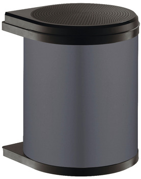Swing Out Waste Bin, for Hinged Door Cabinets, 12 or 15 Litres, Hailo Mono