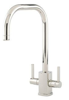 Tap, Contemporary Dual Lever Monobloc, U-Spout, Perrin and Rowe Rubiq
