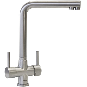 Tap, Dual Lever Filter, Smeg Amalfi 3-in-1