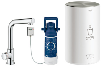 Tap, Instant Hot Water, 3 Litres, L-Spout, Grohe Red II Mono