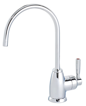 Tap, Instant Mini Hot Tap, Contemporary Single Lever Monobloc, Perrin and Rowe Mimas