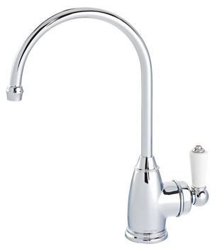 Tap, Instant Mini Hot Tap, Traditional Single Lever Monobloc, Perrin and Rowe Parthian