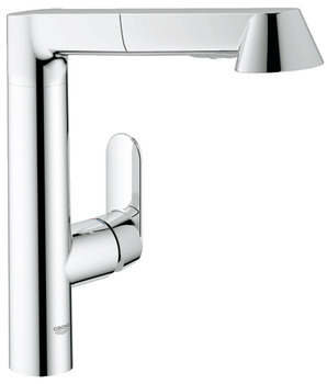 Tap, Single Lever Mixer, Pull Out Spray, Grohe K7 L-Spout