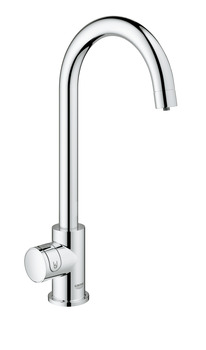 Tap, Single Lever Monobloc Filter Tap, for Chilled Still or Sparkling Water, C-Spout, Grohe Blue® Home Mono Connect