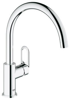 Tap, Single Lever Monobloc, Grohe BauLoop Contemporary