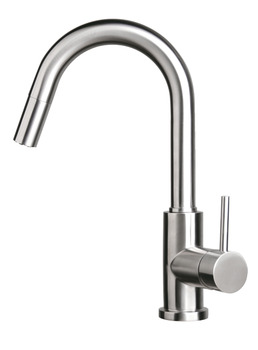Tap, Single Lever Monobloc Mixer, Pull Out Spray, Häfele Coniston