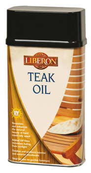 Teak Oil, with UV Filters, Size 1-5 Litre, for Wood Care