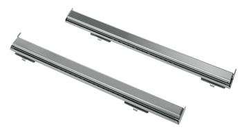 Telescopic Guides, One Pair, Partially Extractable, Smeg
