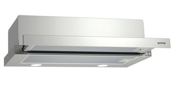 Telescopic Hood, 600 mm, Gorenje Essential Line