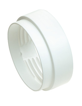Threaded Hose Connector, Female, PVC, White