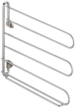 Tie and Belt Rack, Height 270 mm, Width 30 mm, Depth 300 mm