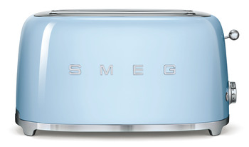Toaster, Four Slice with Two Large Slots, Smeg 50's Retro Style