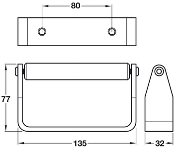 Toilet Roll Holder Set, Cubicle Fittings