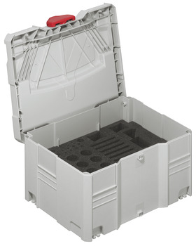 Tool Box, Systainer<sup>® </sup>T-Loc, Box, with Foam Insert for Häfele Red Jig