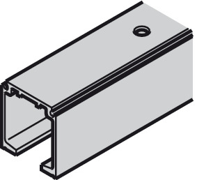 Top Track, for Sliding Interior Doors, Slido D-Line11