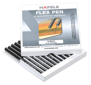 Touch-Up Pens, for Wooden Surfaces, Flex Pen, Häfele