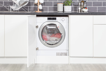 Tumble Dryer, Integrated, Dry Laundry 7 kg, Hoover