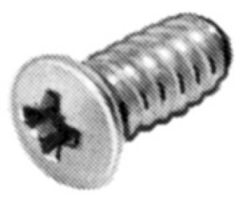 Varianta Screw, Raised Head, Ø 5 mm, PZ2