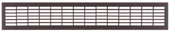 Ventilation Grill, for Recess Mounting, 480 x 80 mm