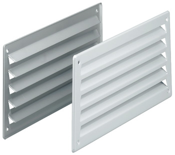 Ventilation Grill, Louvre Type, 157 x 333 mm, Startec