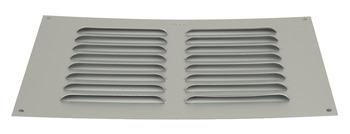 Ventilation Grill, Surface mounted, Louvre Type
