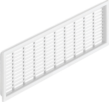 Ventilation Grille, for Recess Mounting, with Flanged Rim