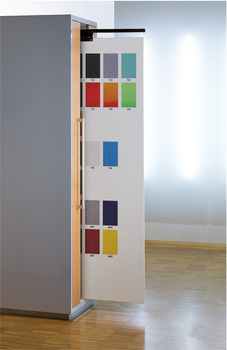 Wall Display, Full Extension, Load Capacity 30-50 kg