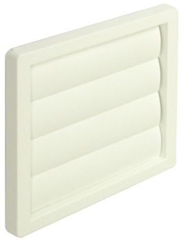 Hafele Wall Grille Gravity Flap System 4 White Finish