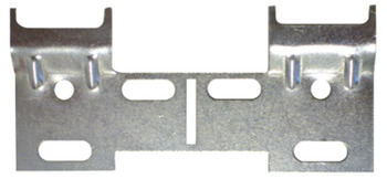 Wall Plate, Double, for Koala Cabinet Hanger