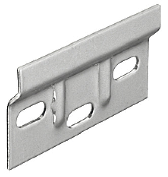 Wall Plate, for Cabinet Hanger, Steel, Length 63 mm