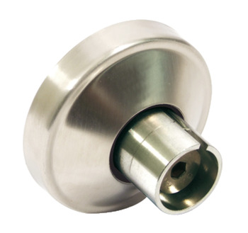 Wall to Headrail Socket, 316 L Cubicle Fittings, PBA