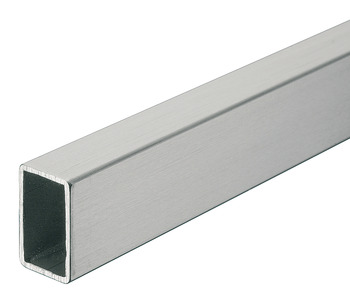 Wardrobe Rail, Square, Length 2000 mm, Height 25 mm, Width 15 mm
