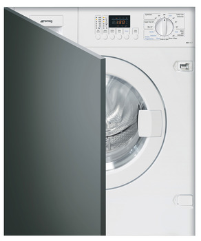 Washer Dryer, Fully Integrated, Dry Laundry 7 kg, Smeg Cucina