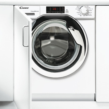 Washer Dryer, Integrated, 8/5 kg Laundry, Candy
