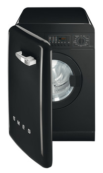 Washing Machine, Freestanding, Dry Laundry 7 kg, Smeg 50's Retro Style
