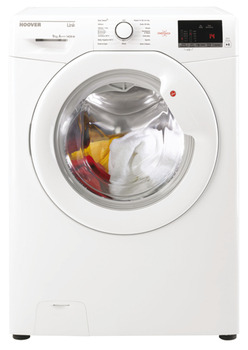 Washing Machine, NFC, Dry Laundry 9 kg, Hoover