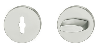 WC Release and Inside Turn, for FSB ASL<sup>®</sup> Lever Handles, Ø 55 mm, Aluminium