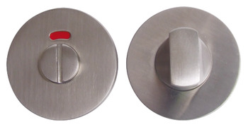 WC Release and Inside Turn, for Startec Lever Handles, Ø 50 mm, Stainless Steel
