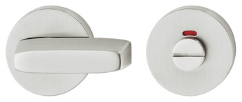 WC Release and Inside Turn, for Startec Lever Handles, Disabled, Ø 55 mm, Stainless Steel