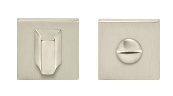 WC Release and Inside Turn, for Startec Lever Handles, Square, Zinc Alloy