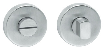 WC Release and Inside Turn, for Startec Lita Lever Handles, Stainless Steel