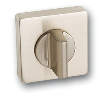 WC Release and Inside Turn, Square, 52 x 52 mm, Zinc Alloy