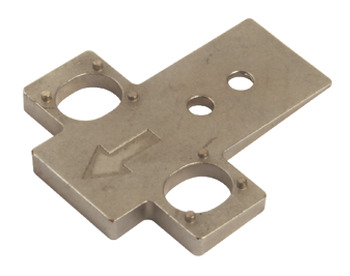 Wedge, for Tiomos Cruciform Mounting Plates
