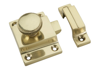 Window/Door Catch, for Window Shutters, Brass